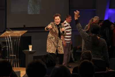 Prophesying at Prophetic Fire!
