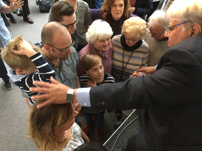 Blessing four generations in Germany.